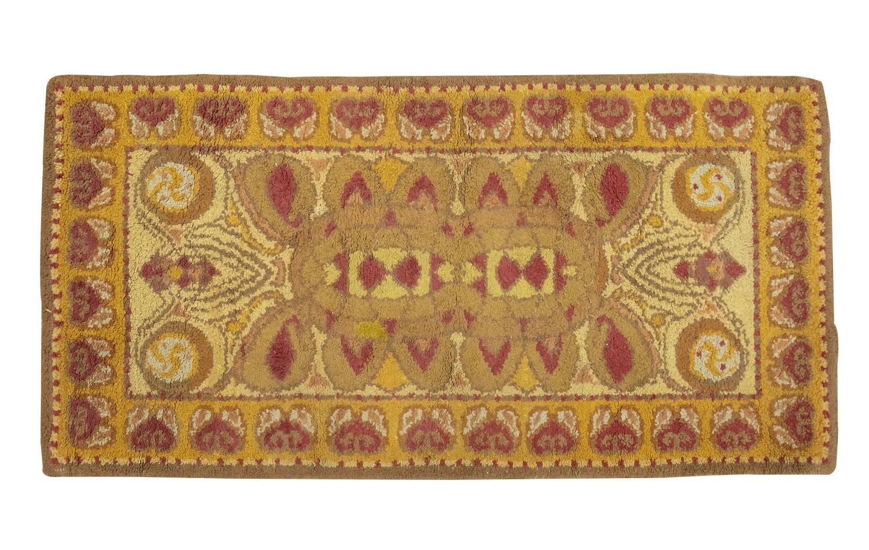 Irish Arts & Crafts Dun Emer woollen rug
