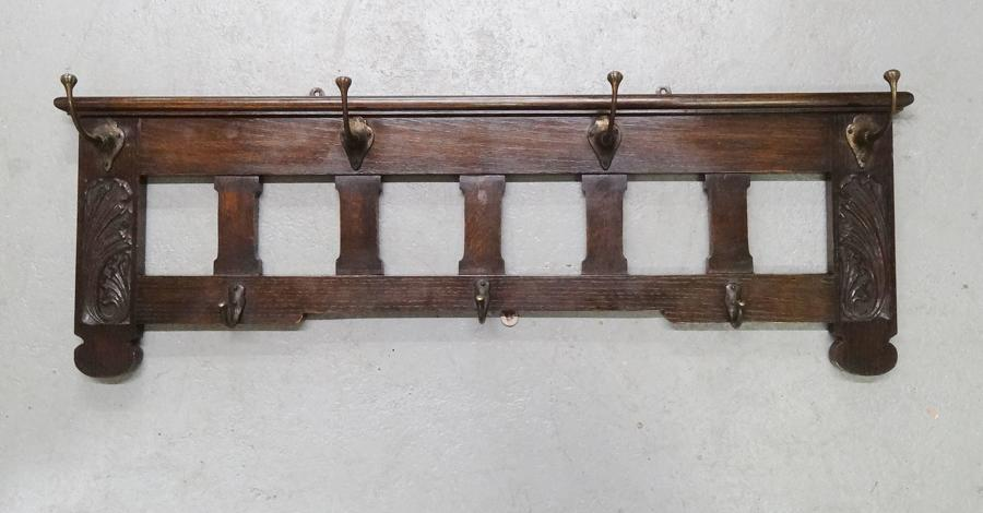 Arthur Simpson of Kendal wall coat hat rack