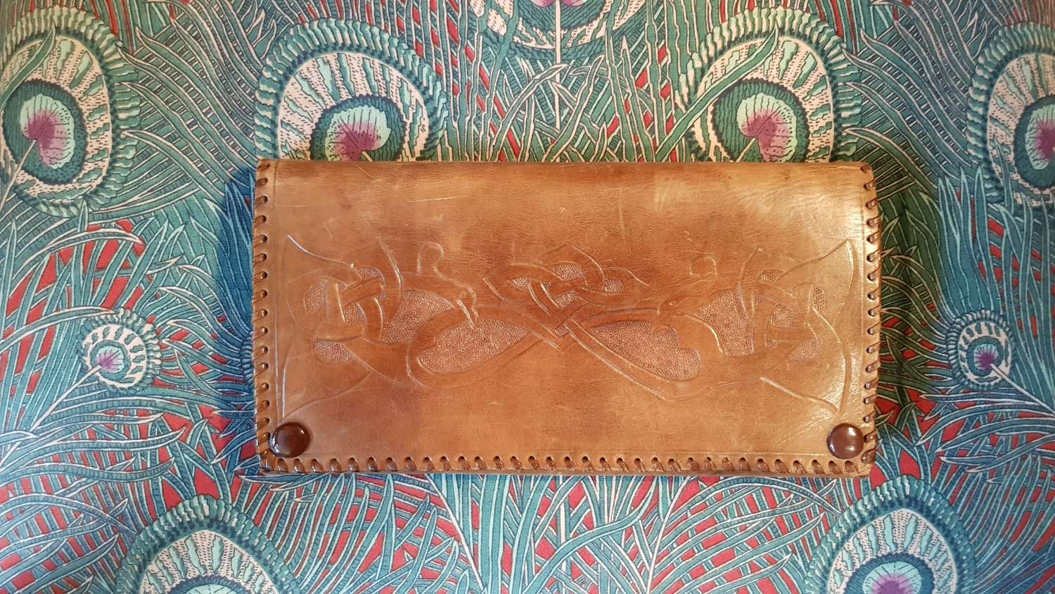 Liberty Arts & Crafts leather purse wallet
