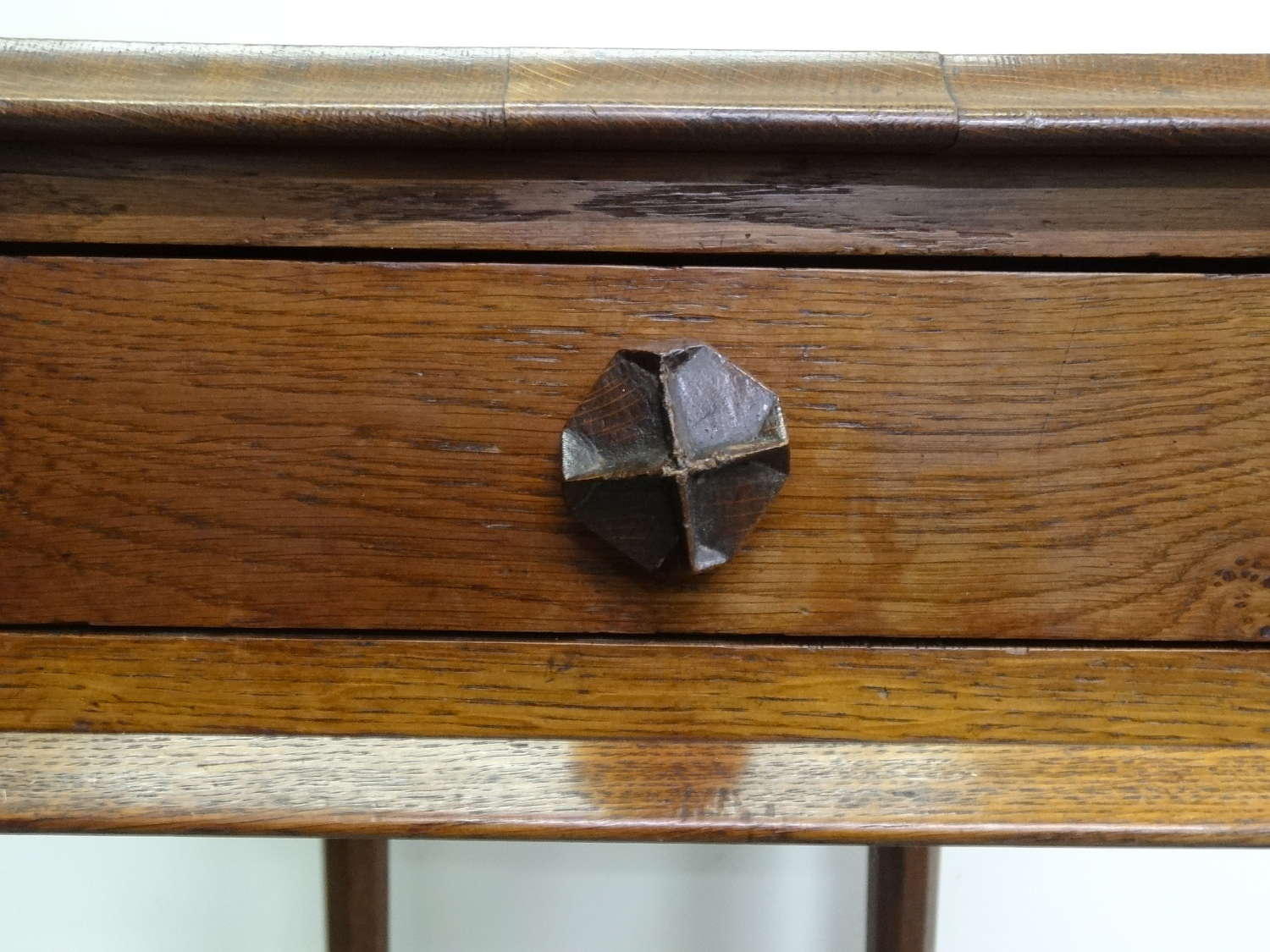 Arts & Crafts Cotswold School style campaign occasional table