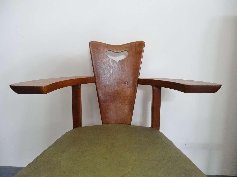Glasgow Style Arts & Crafts George Walton Abingwood armchair