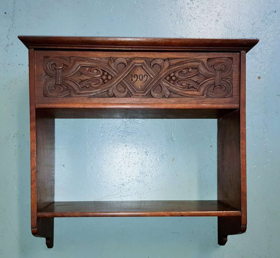 Arthur Simpson of Kendal Arts & Crafts wall cabinet 1909