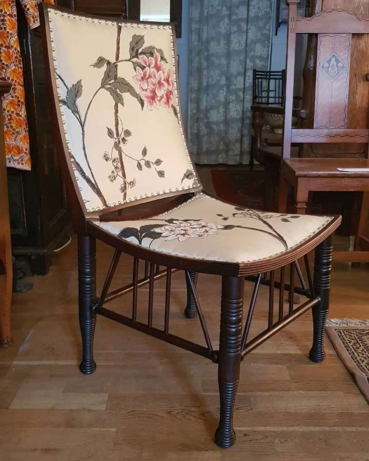 Rare Liberty & Co Aesthetic Movement Thebes chair