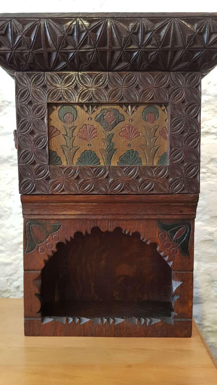 Elena Polenova Russian Arts & Crafts small cabinet